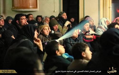 L'Isis proietta al cinema le esecuzioni 5
