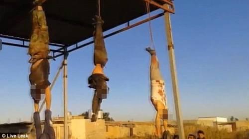 Orrore Isis a Kirkuk: cadaveri a testa in giù 5