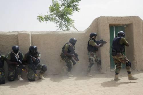 L'addestramento delle truppe in Ciad 2