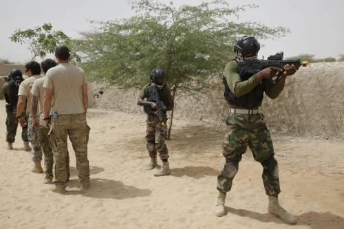 L'addestramento delle truppe in Ciad 3