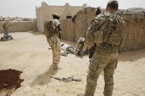 L'addestramento delle truppe in Ciad 4