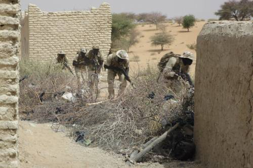 L'addestramento delle truppe in Ciad 5