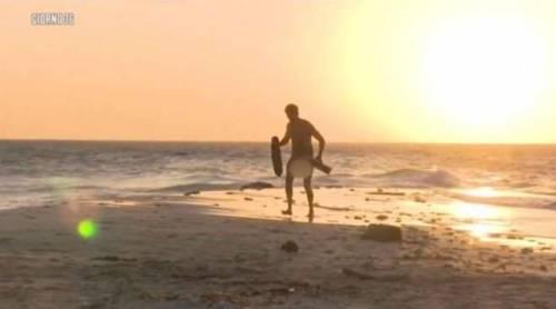 Rocco Siffredi nudo su Playa desnuda 2