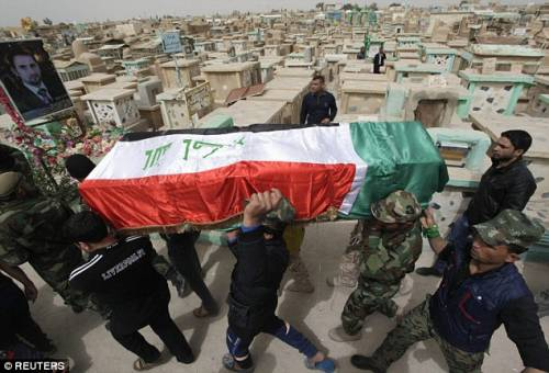 Tirkit, gli iracheni decapitano i miliziani dell'Isis 3