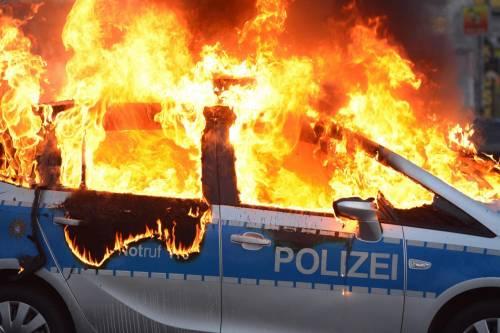 Blockupy, scontri a Francoforte 3