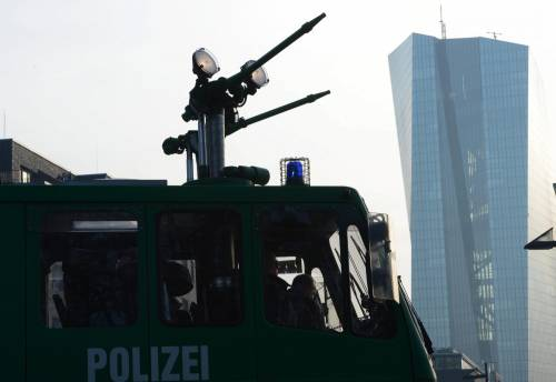 Blockupy, scontri a Francoforte 4