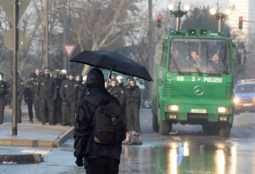 Blockupy, scontri a Francoforte 5