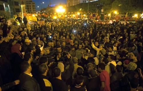 Veglia a Tunisi dopo gli attentati 3