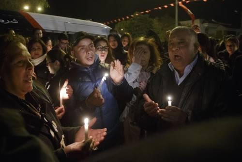 Veglia a Tunisi dopo gli attentati 2