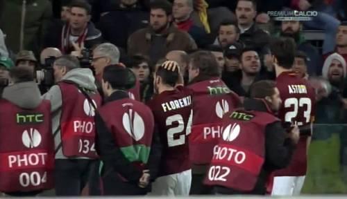 Europa League, faccia a faccia tra i giocatori della Roma e i tifosi 2