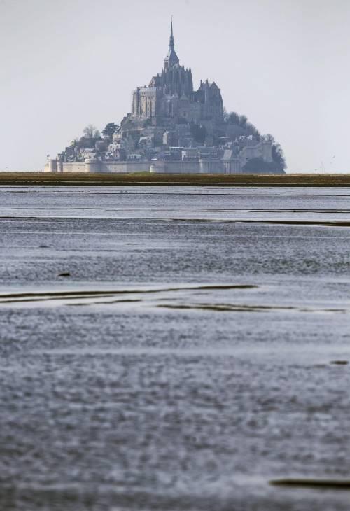 Mont St. Michel, la marea del secolo 8