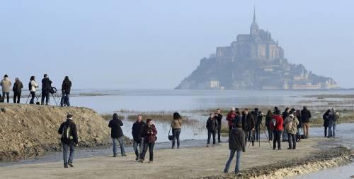 Mont St. Michel, la marea del secolo 9