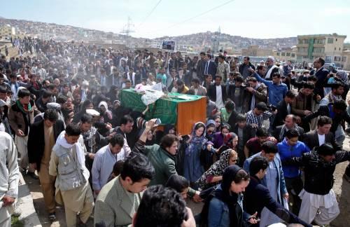 I funerali a Kabul della donna uccisa  4