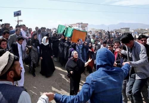 I funerali a Kabul della donna uccisa  6
