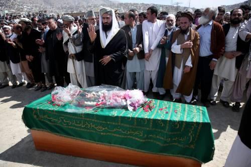 I funerali a Kabul della donna uccisa  7