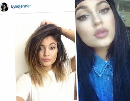 Kylie Jenner, 40 minuti di trucco per labbra turgide 11