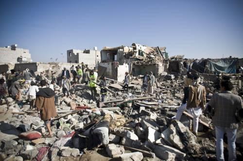L'Arabia Saudita attacca lo Yemen nella notte 5