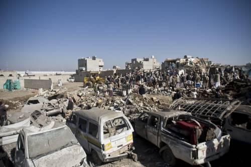 L'Arabia Saudita attacca lo Yemen nella notte 6