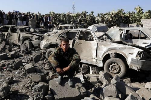 L'Arabia Saudita attacca lo Yemen nella notte 7