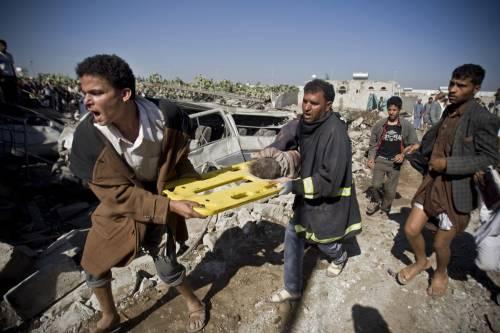 L'Arabia Saudita attacca lo Yemen nella notte 10
