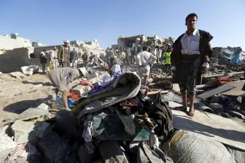 L'Arabia Saudita attacca lo Yemen nella notte 9