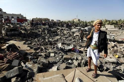 L'Arabia Saudita attacca lo Yemen nella notte 13