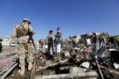 L'Arabia Saudita attacca lo Yemen nella notte 12