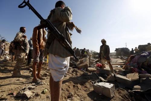 L'Arabia Saudita attacca lo Yemen nella notte 14