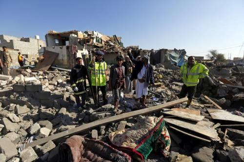 L'Arabia Saudita attacca lo Yemen nella notte 15