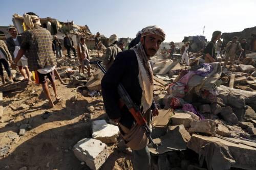 L'Arabia Saudita attacca lo Yemen nella notte 16