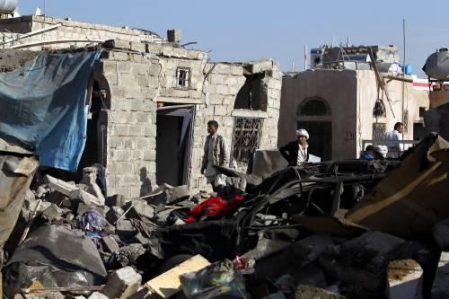 L'Arabia Saudita attacca lo Yemen nella notte 17