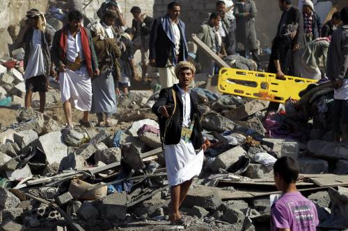 L'Arabia Saudita attacca lo Yemen nella notte 18