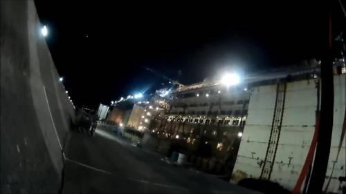 Le immagini del relitto della Concordia  8