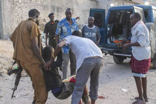 Al-Shabaab attacca un hotel in Somalia 2