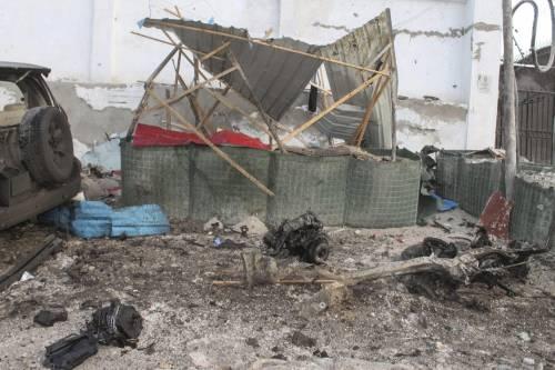 Al-Shabaab attacca un hotel in Somalia 4