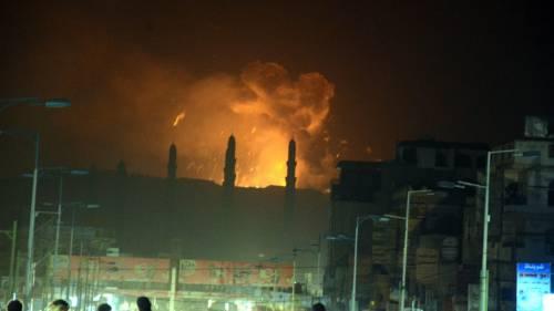 Lo Yemen sotto i bombardamenti 3