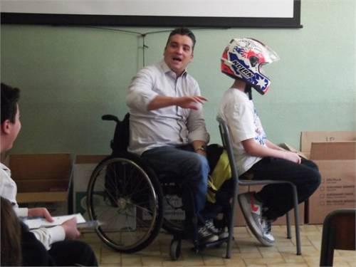 Alessio tavecchio, atleta paralimpico 3