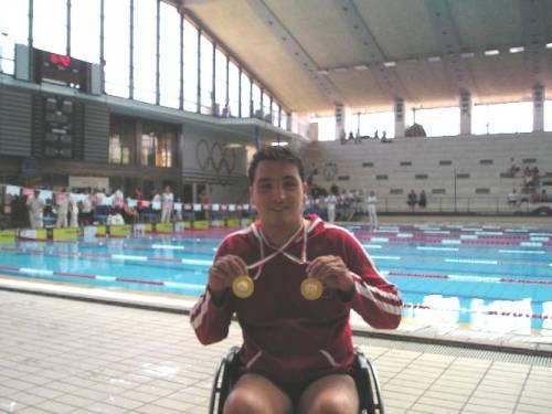 Alessio tavecchio, atleta paralimpico 4