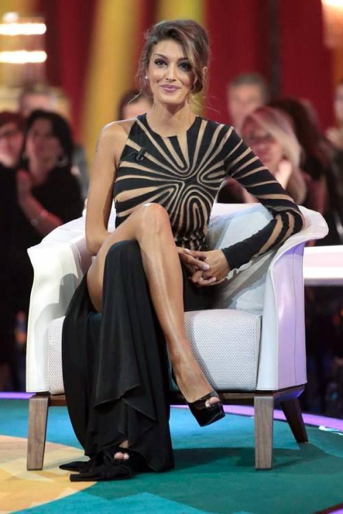 Cristina Buccino hot da Chiambretti 8