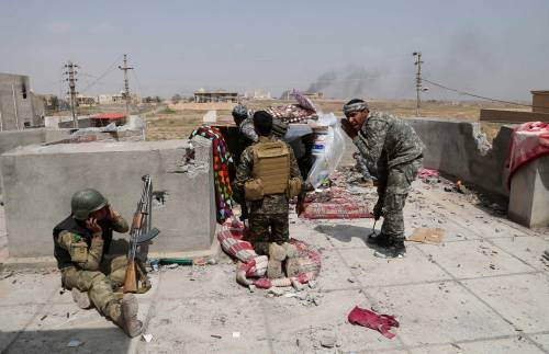 I combattimenti per Tikrit 6