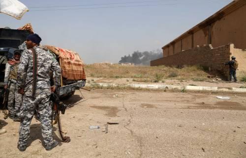 I combattimenti per Tikrit 12
