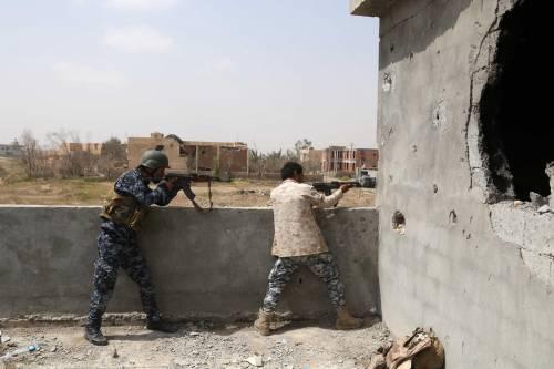 I combattimenti per Tikrit 13