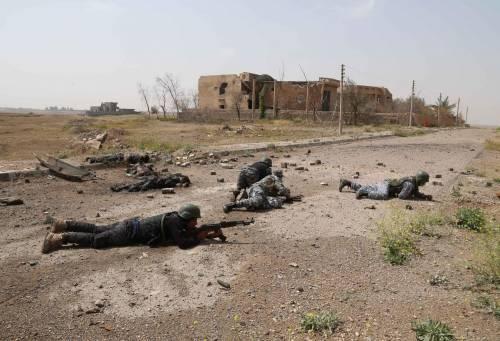 I combattimenti per Tikrit 18