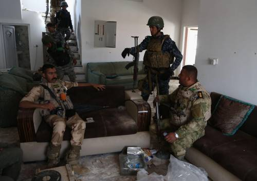 I combattimenti per Tikrit 20