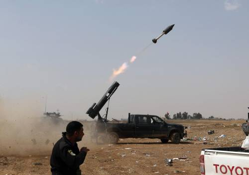 I combattimenti per Tikrit 19