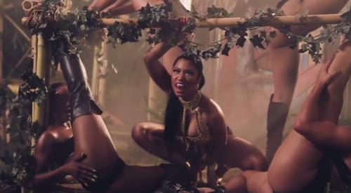 Nicki Minaj: sedere nudo a Dublino 7