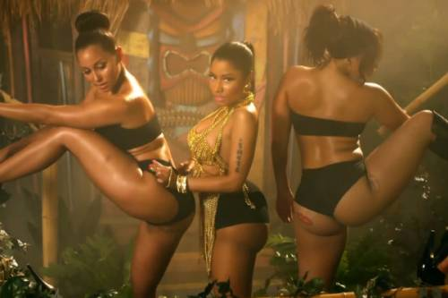 Nicki Minaj: sedere nudo a Dublino 8