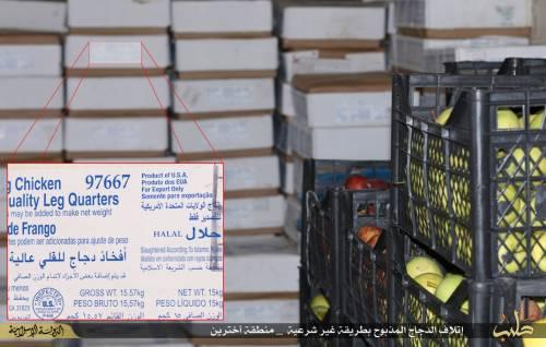 """L'Isis brucia il pollo destinato ai profughi: """"È macellato negli Usa"""" 5"""