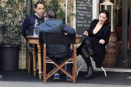 Simona Borioni, ex fidanzata di Rosalinda Celentano super sexy a Roma 5