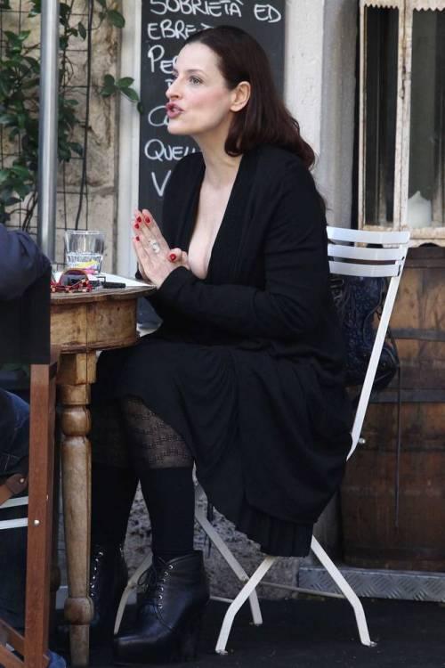 Simona Borioni, ex fidanzata di Rosalinda Celentano super sexy a Roma 7